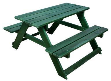 KidKraft Adirondack Picnic Table - Green