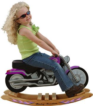 KidKraft Harley-Davidson Lil' Diva Rock 'N Ride