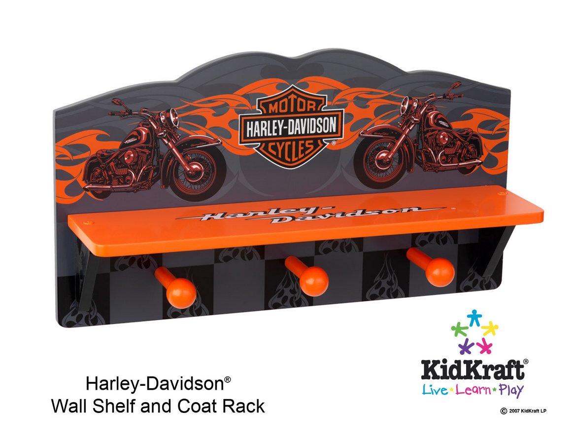 KidKraft Harley Davidson Wall Shelf