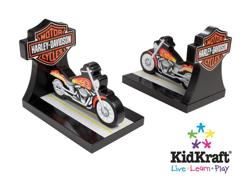 KidKraft Harley-Davidson Book Ends
