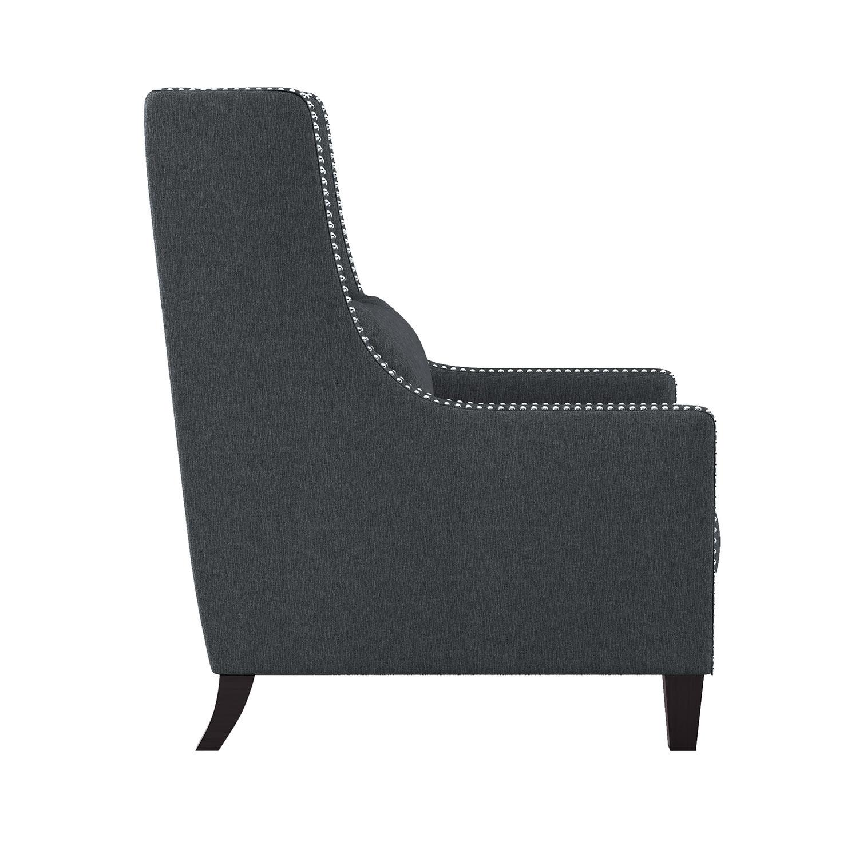 Homelegance Keller Accent Chair - Dark gray
