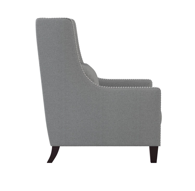 Homelegance Keller Accent Chair - Light gray