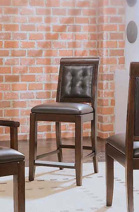Cheap American Drew Tribecca Leather Bar Stool