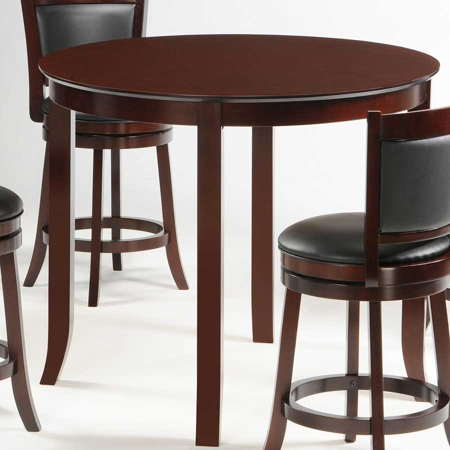 30 Inch Round Kitchen Table: Homelegance Shapel Round 42 Inch Counter Height Dining