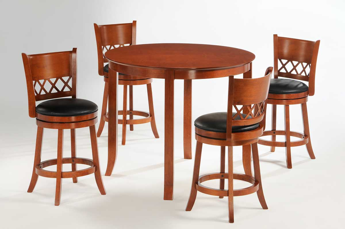 Homelegance Shapel 1130 Round Counter Height Dining Set