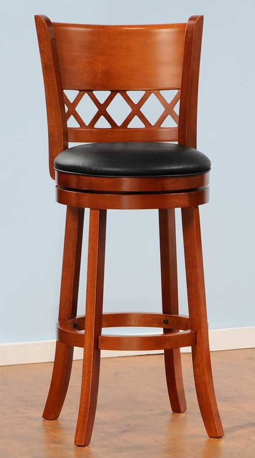 Shapel 1130 Swivel Pub Chair - Homelegance