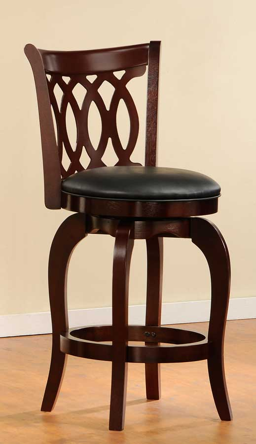 Homelegance Shapel 1133 Swivel Counter Height Chair