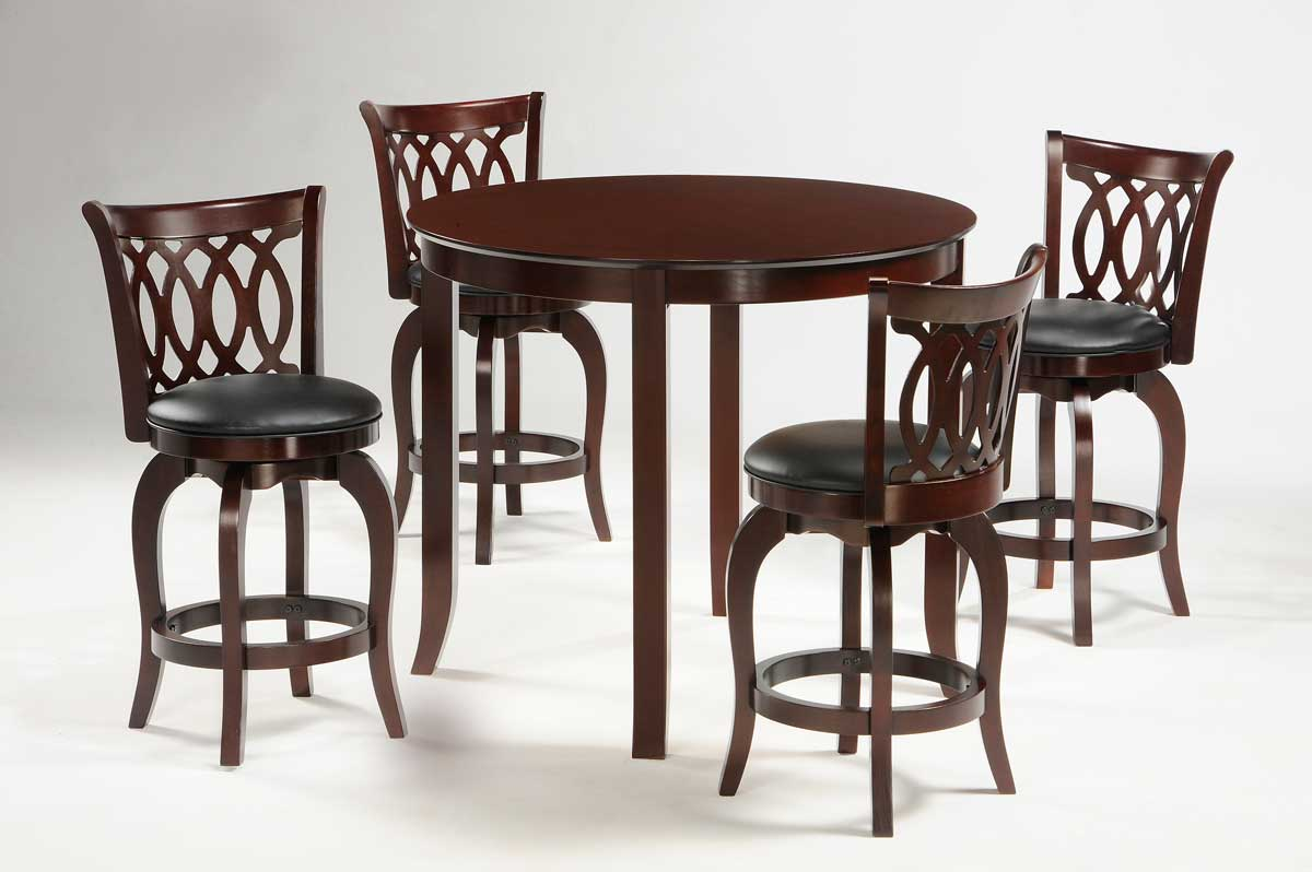 Counter Height Round Dining Set : The Shapel Counter Height Dining Collection adds an additional touch ...