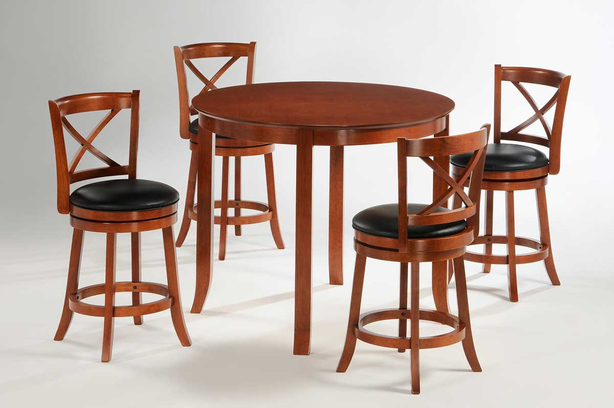 Homelegance Shapel 1135 Round Counter Height Dining Set