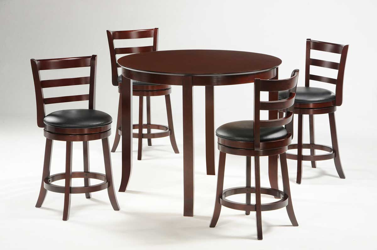 Homelegance Shapel 1137 Round Counter Height Dining Set