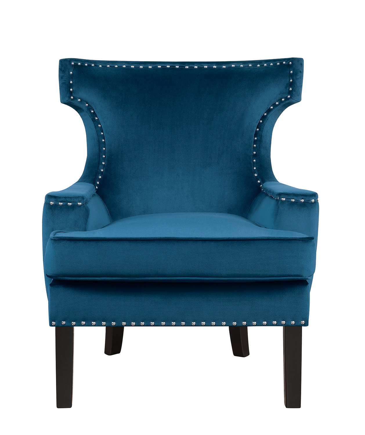 Homelegance Lapis Accent Chair - Blue