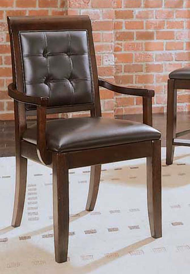 Cheap American Drew Tribecca Upholstered Leather Arm Chair