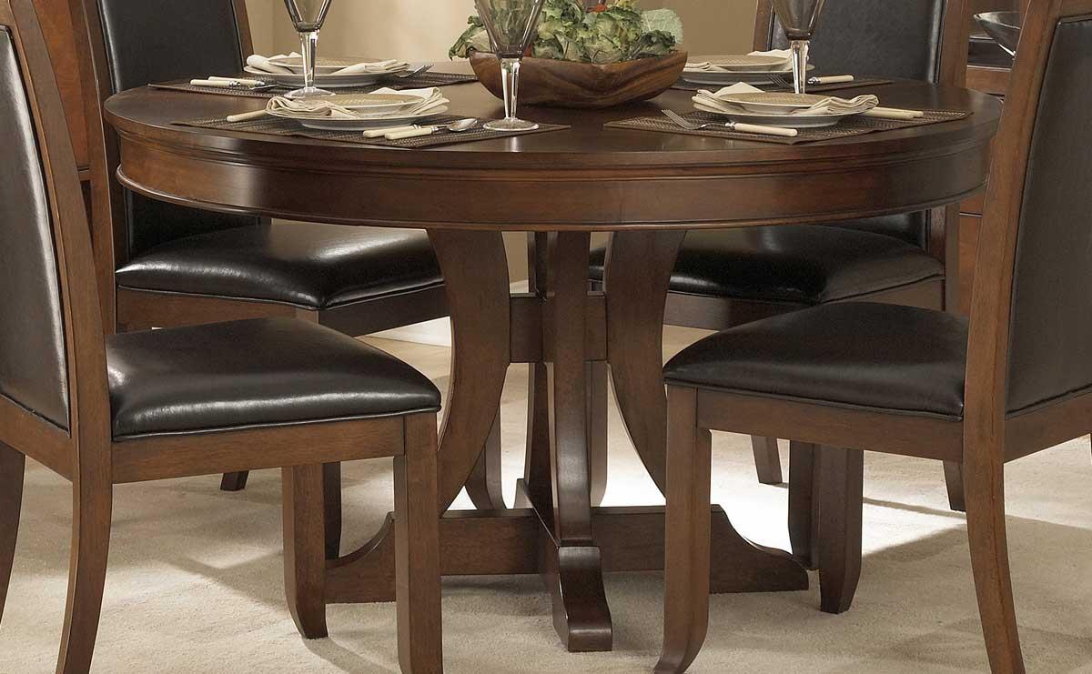 Homelegance Avalon Round Pedestal Dining Table 1205 54 At