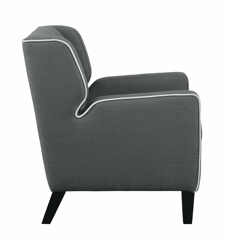 Homelegance Roweena Accent Chair - Dark Gray