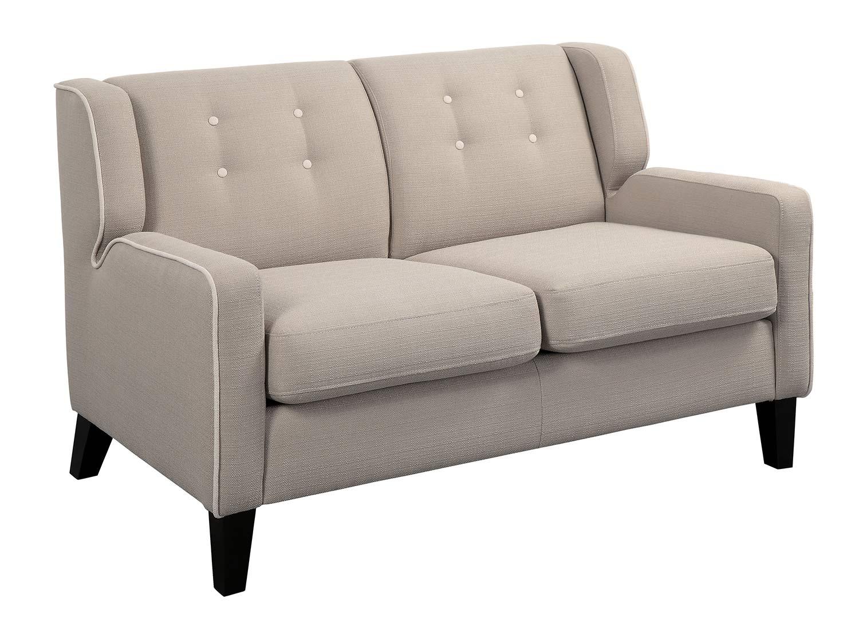 Homelegance Roweena Love Seat - Beige