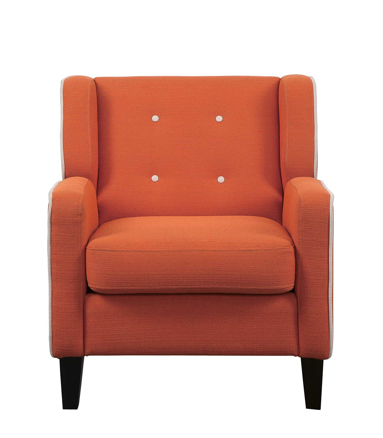 Homelegance Roweena Accent Chair - Orange