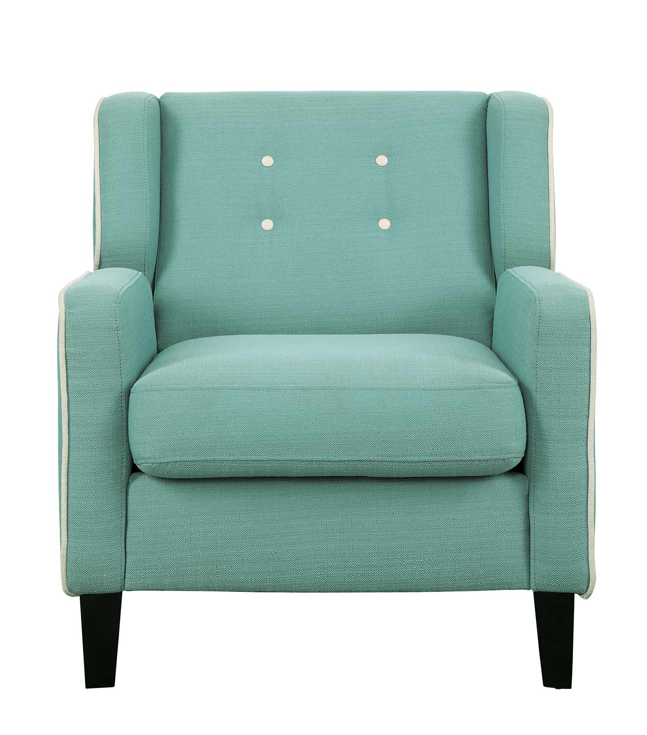 Homelegance Roweena Accent Chair - Teal