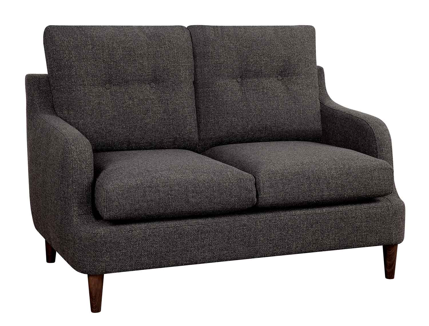 Homelegance Cagle Love Seat - Chocolate