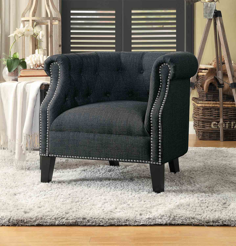 Homelegance Karlock Accent Chair - Gray