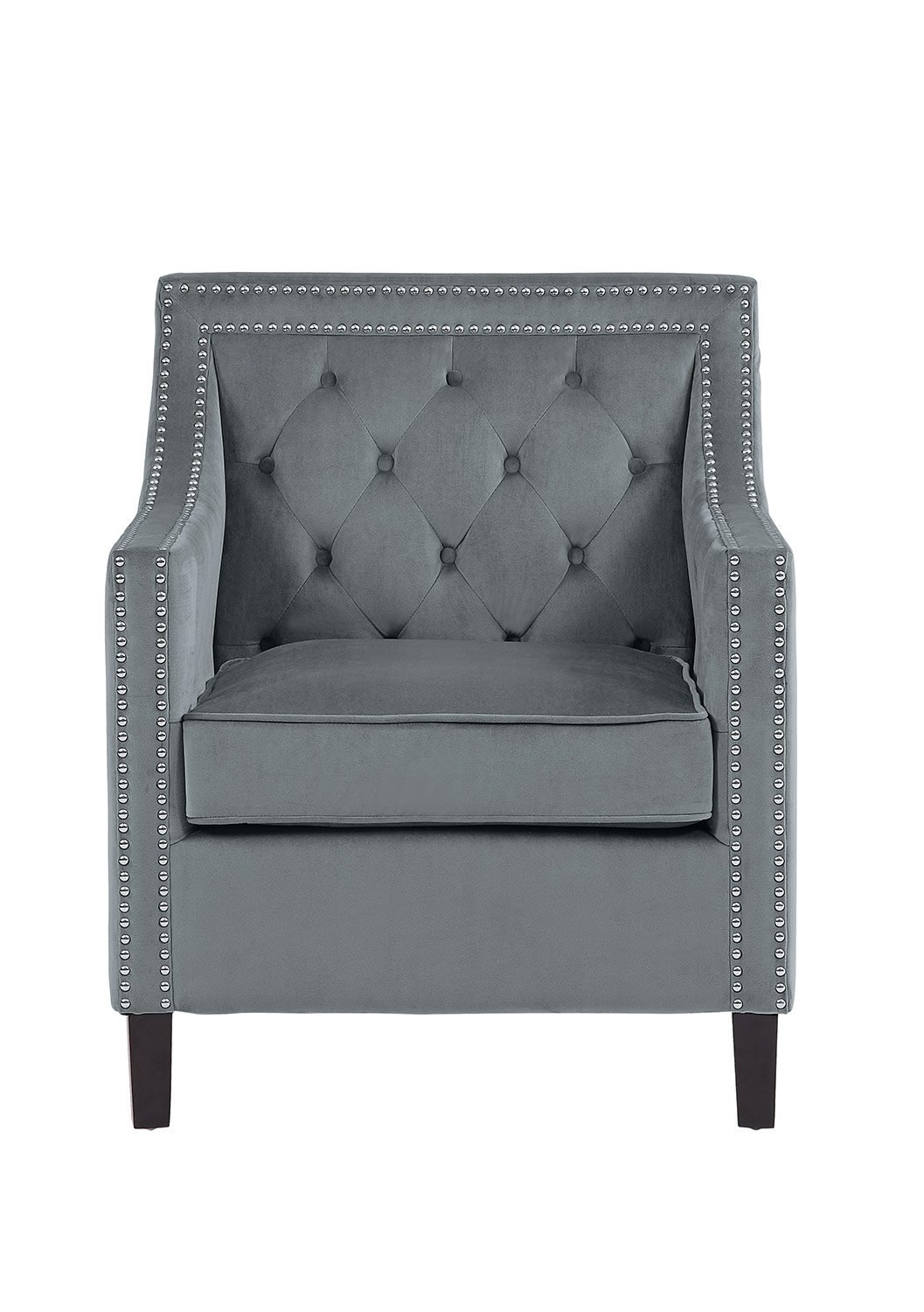 Homelegance Grazioso Accent Chair - Gray