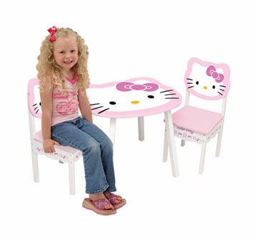 KidKraft Hello Kitty Table and 2 Chair Set