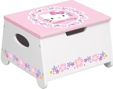 KidKraft Hello Kitty Storage Stool