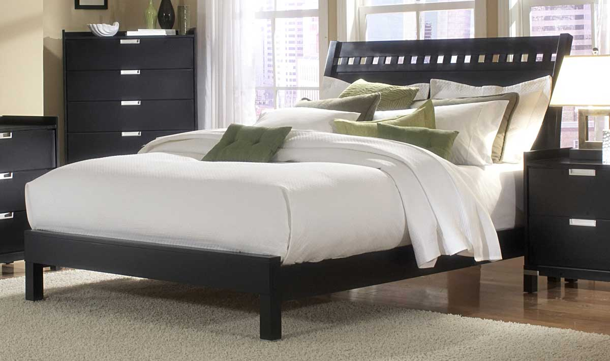Homelegance Bella Bedroom Collection in Black