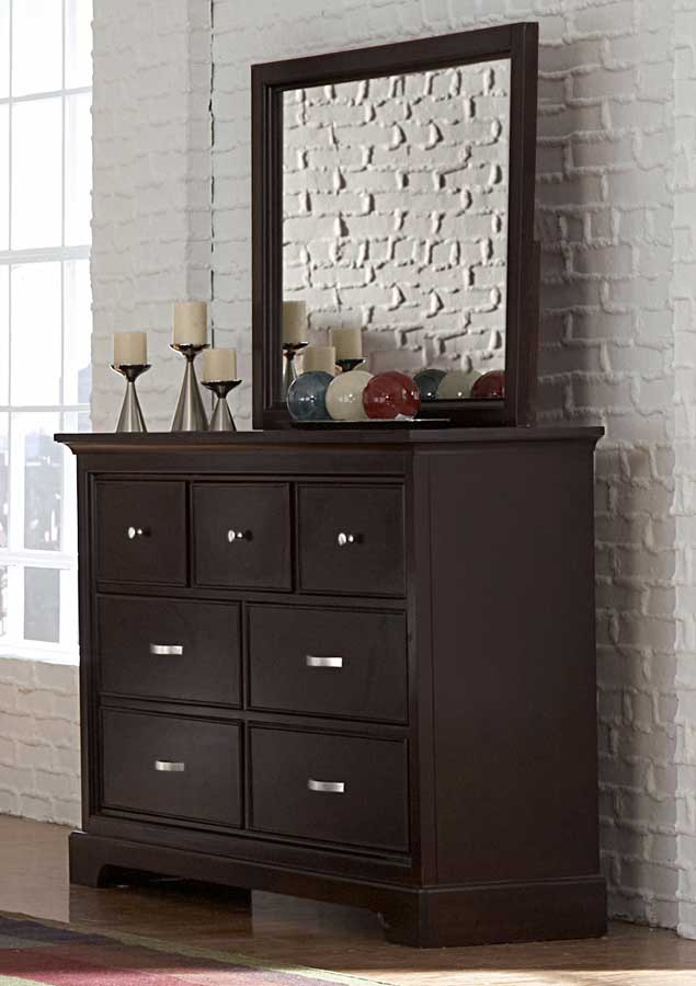 Homelegance Glamour Brown Bedroom Collection