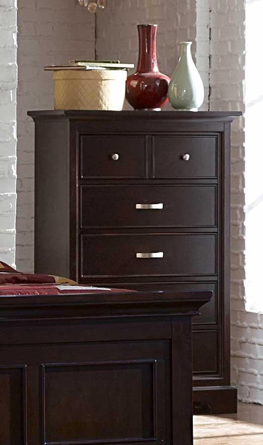 Homelegance Glamour Brown Chest