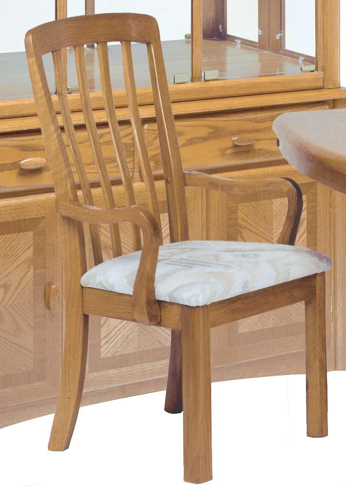 Homelegance Somerset Oak Arm Chair
