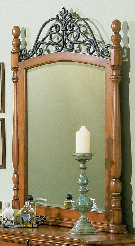 Homelegance Shady Brook Crowned Mirror
