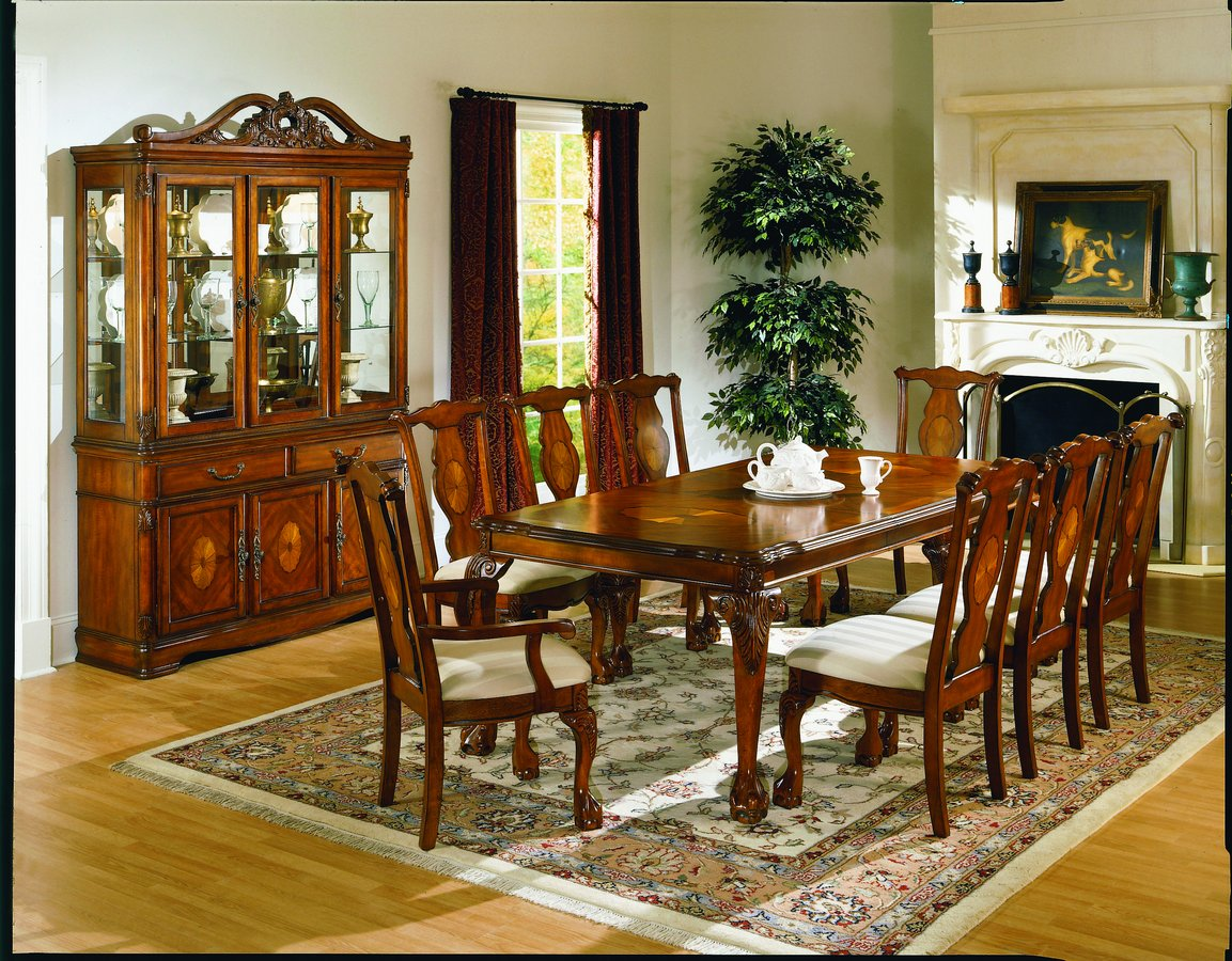 homelegance mediterranean dining collection d1366 86