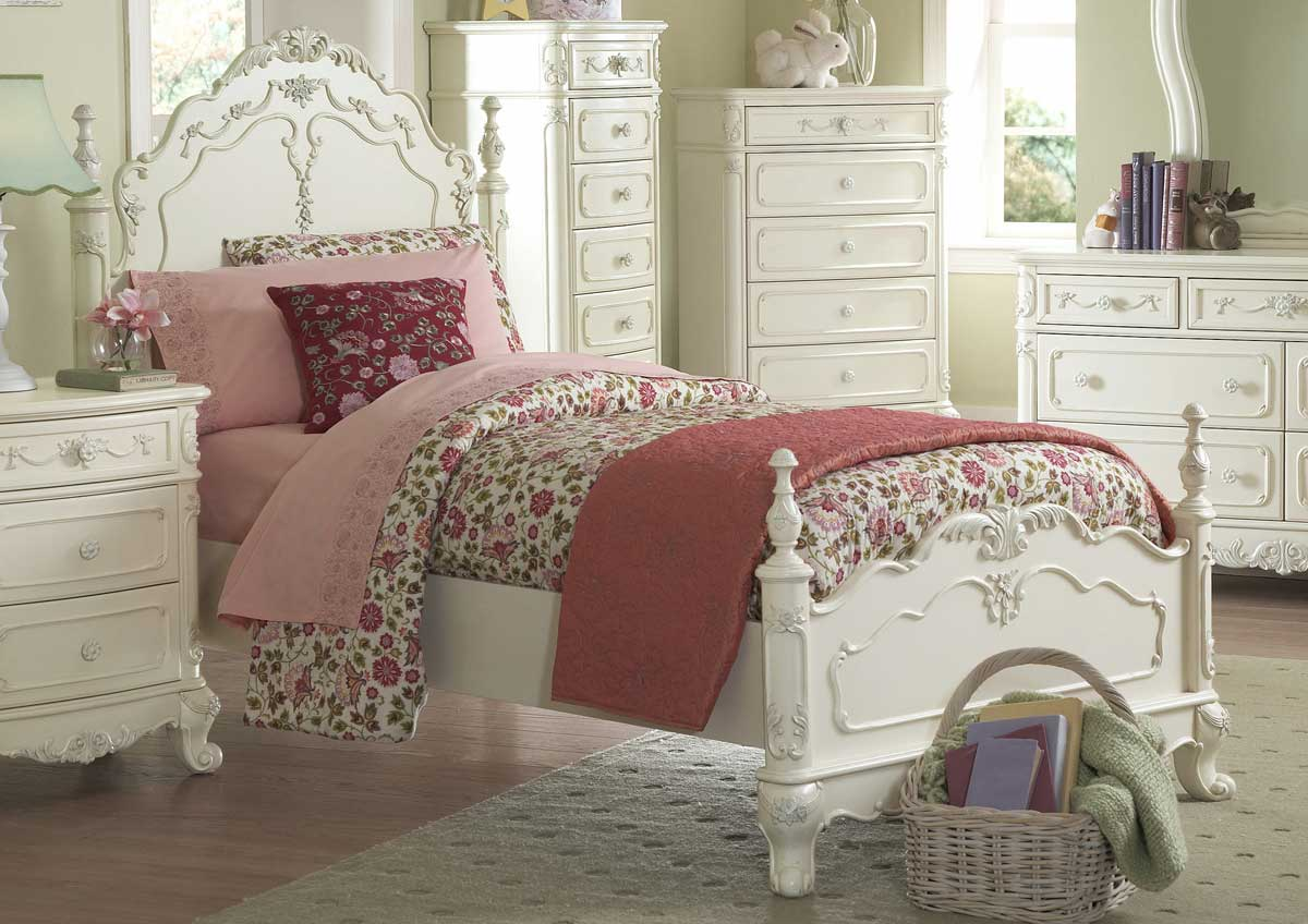 Homelegance Cinderella Bedroom Collection - Ecru B1386  Homelement ...