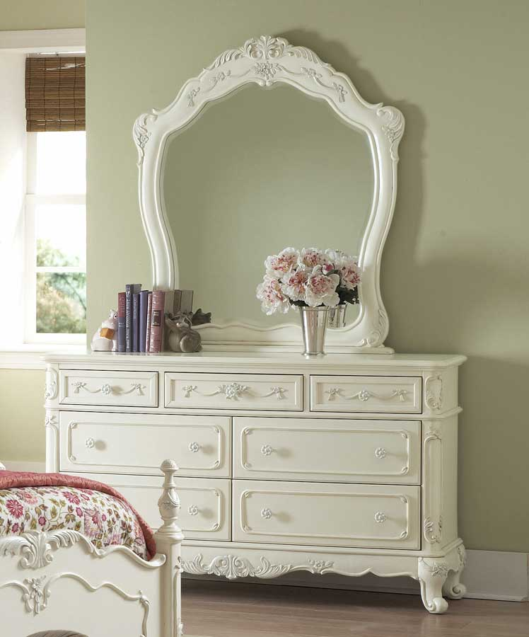Homelegance Cinderella Bedroom Collection - Ecru