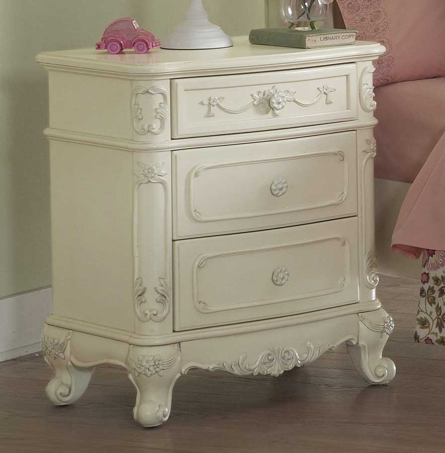 Homelegance Cinderella Bedroom Collection   Ecru