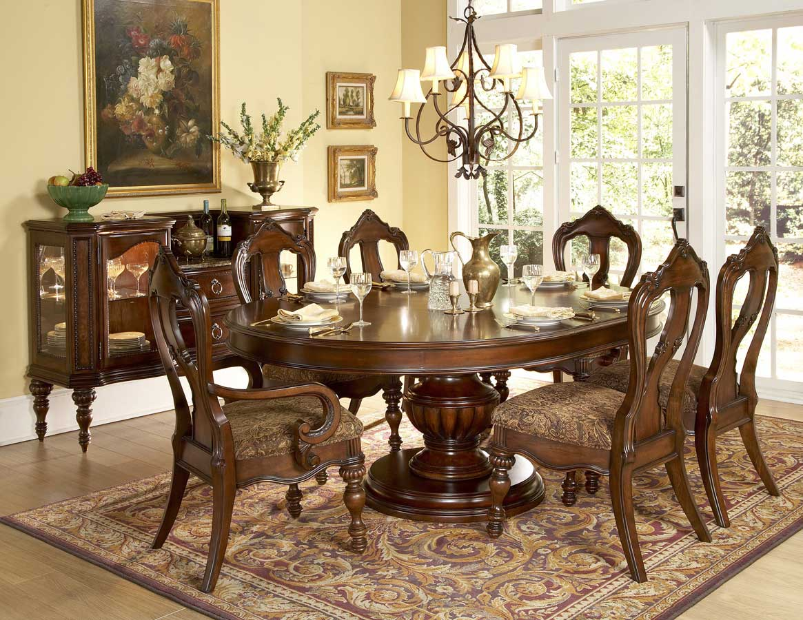 Round Dining Room Tables Interior Home Design