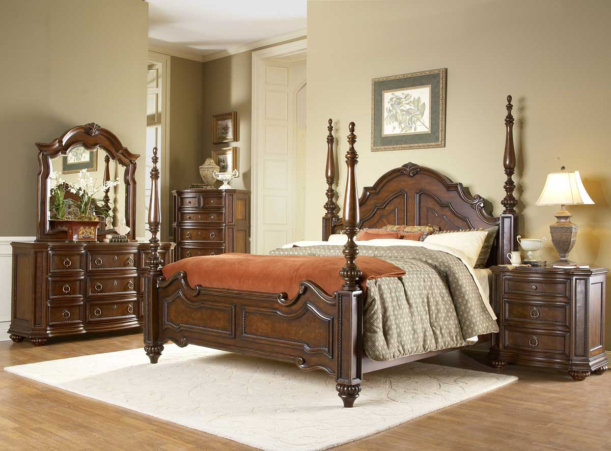 Furniture Bedroom Furniture Collection Cherry Wood