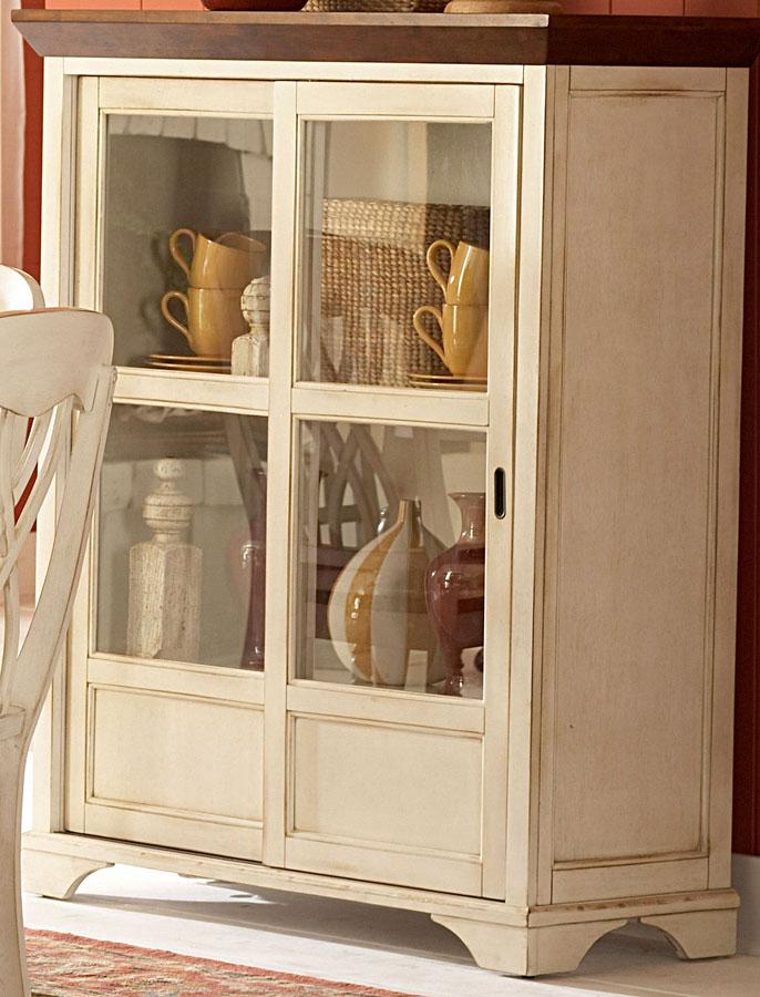 Homelegance Ohana White Curio Cabinet
