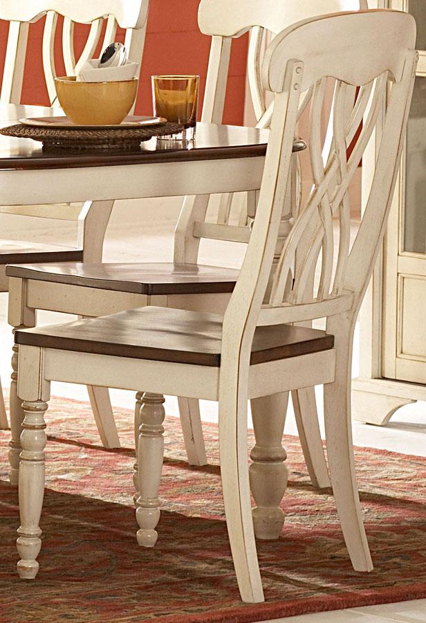 Homelegance Ohana White Side Chair