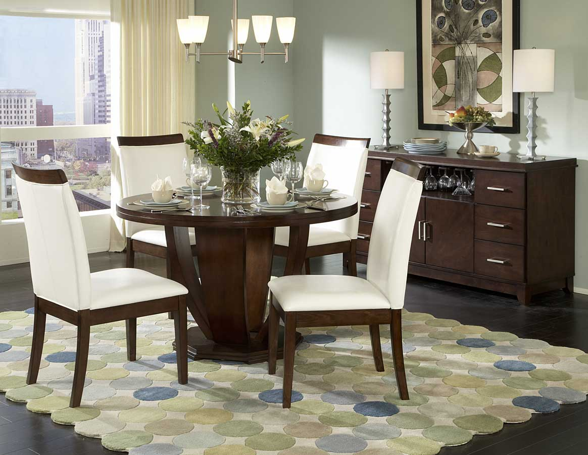 Homelegance Elmhurst S1 Round Dining Collection
