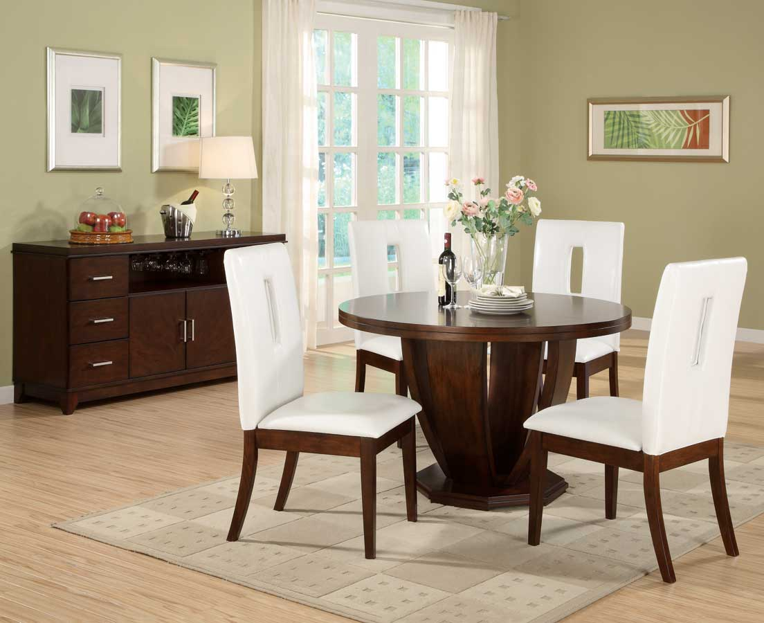 Homelegance Elmhurst S2 Round Dining Collection D1410 48