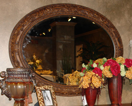 Homelegance DaVinci Mirror for Server