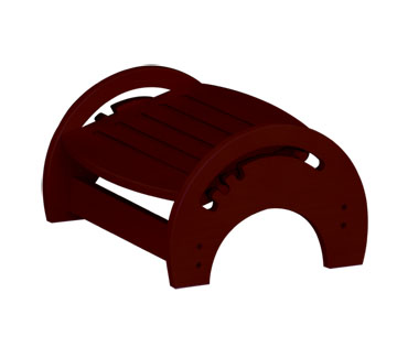 KidKraft Nursing Stool - Cherry