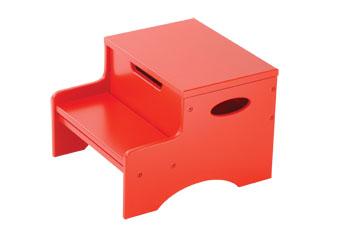 KidKraft Step 'N Store - Red