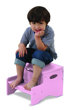 KidKraft Step 'N Store - Pink