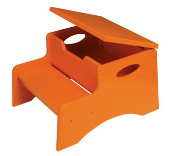 KidKraft Step 'N Store - Tangerine