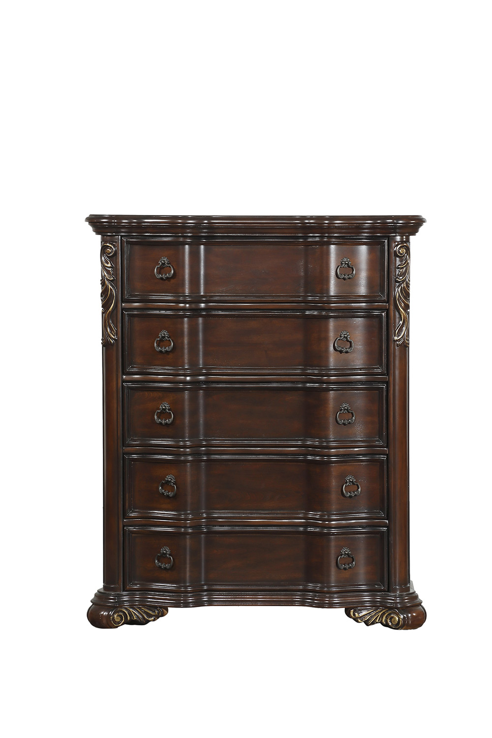 Homelegance Royal Highlands Chest - Rich Cherry