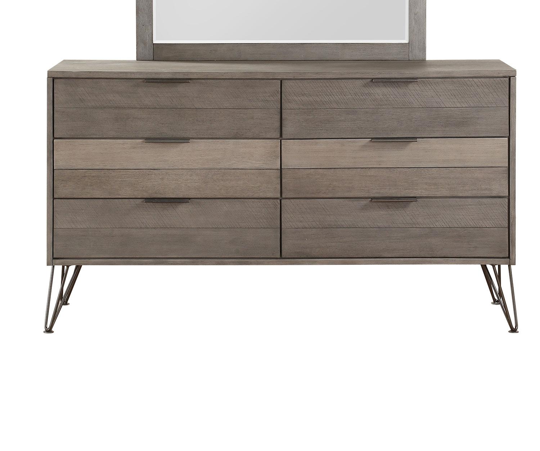 Homelegance Urbanite Dresser - Brown-Gray