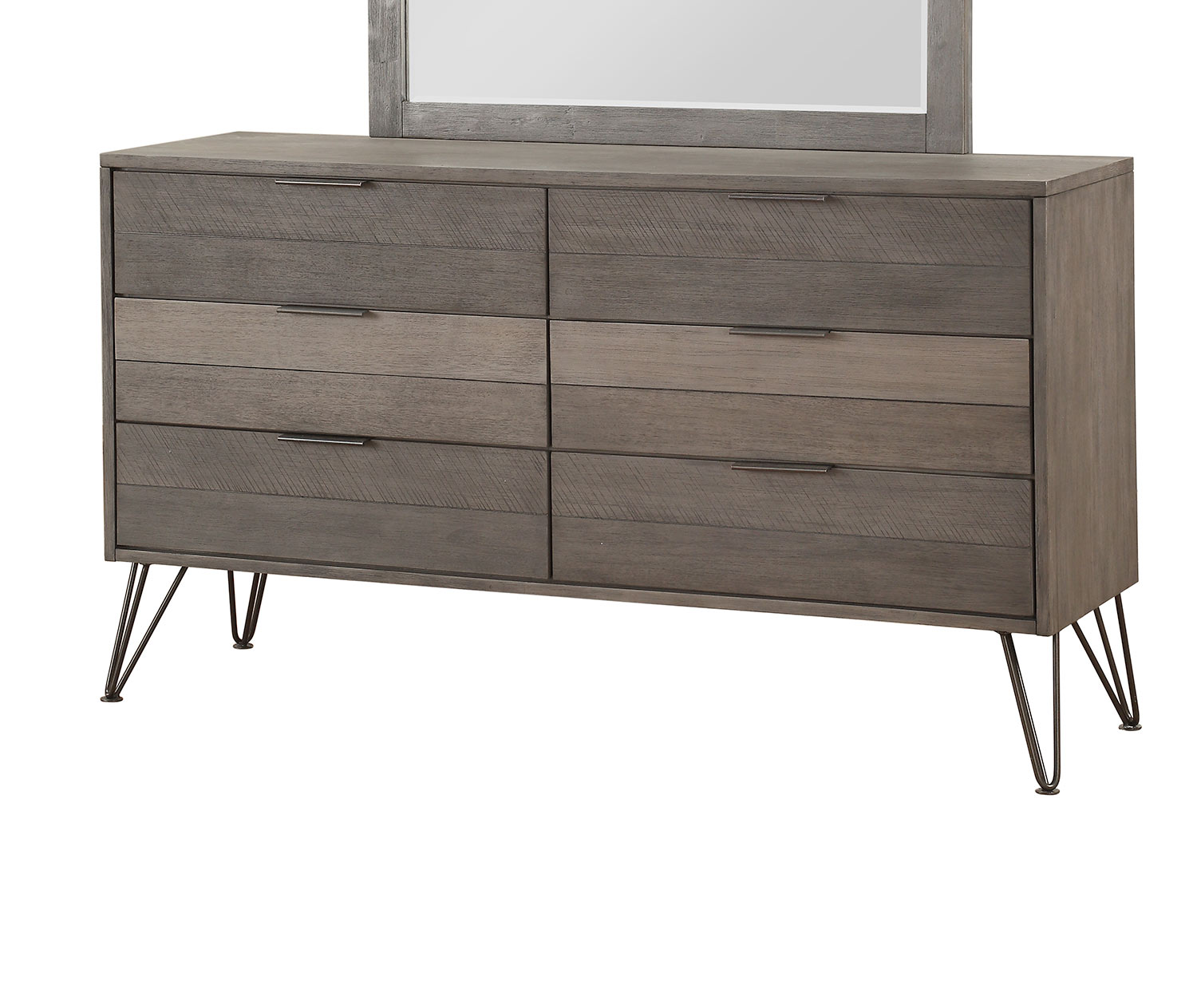 Homelegance Urbanite Dresser - Brown-Gray