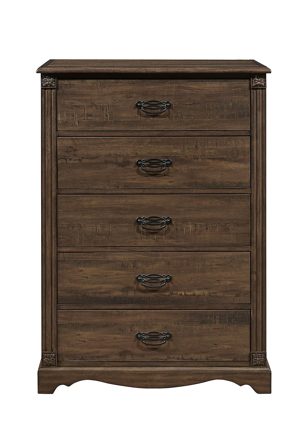 Homelegance Beaver Creek Chest - Rustic Brown